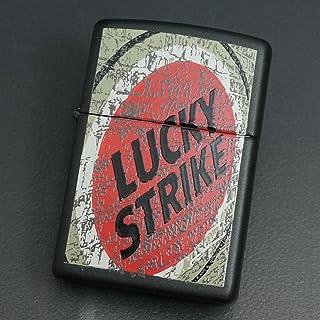 zippo(ジッポー) LUCKY STRIKE WALL 黒マット 1999年製造