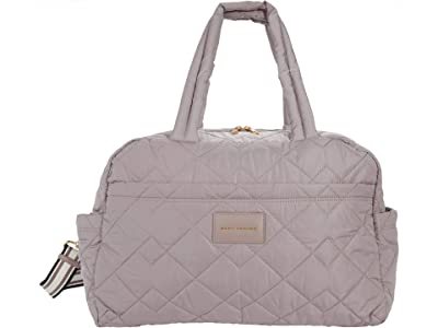 Marc Jacobs Quilted Nylon Large Weekender Bag