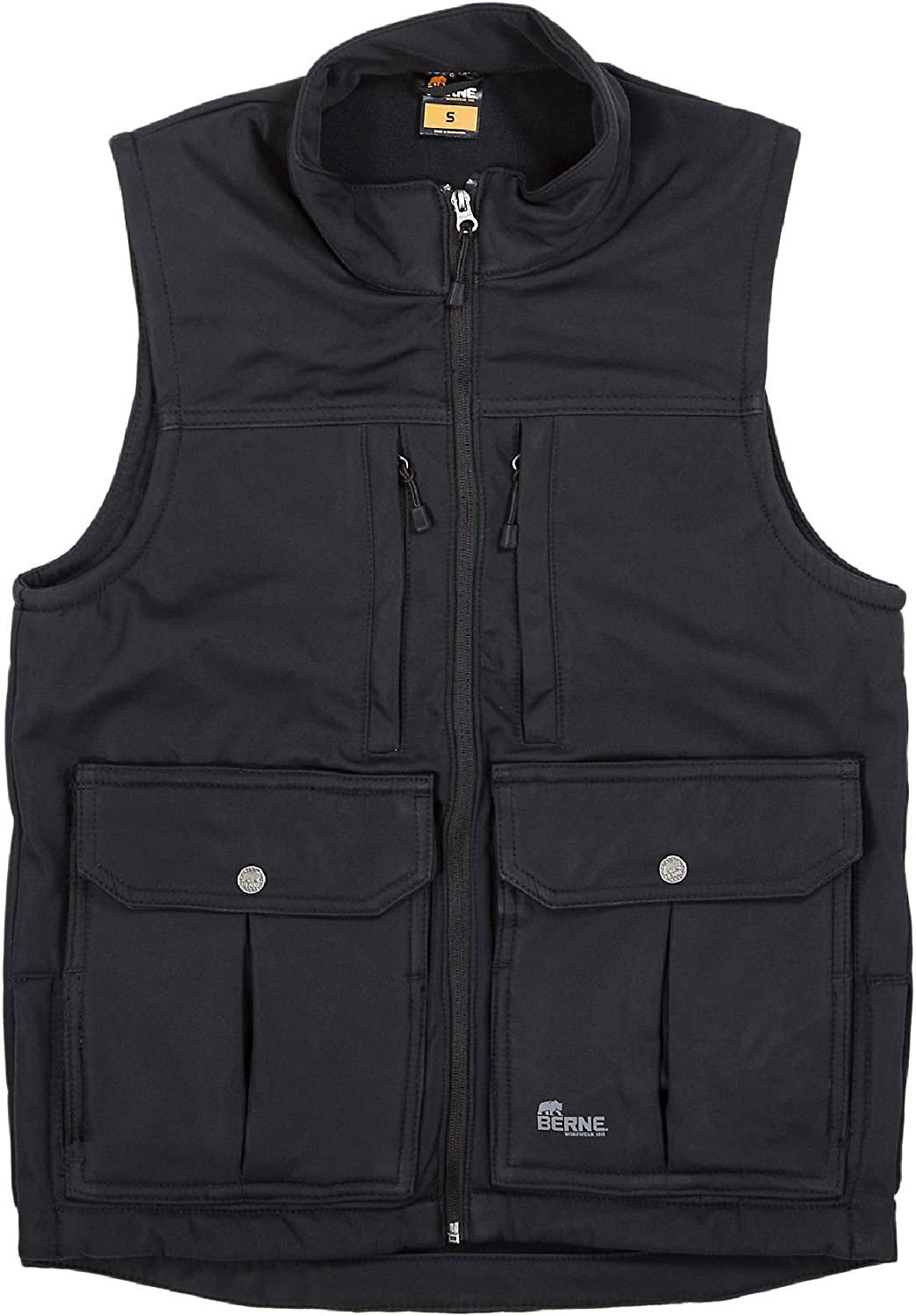 Berne We OFFer at cheap prices Men's Echo Zero Eight Vest Department store Softshell