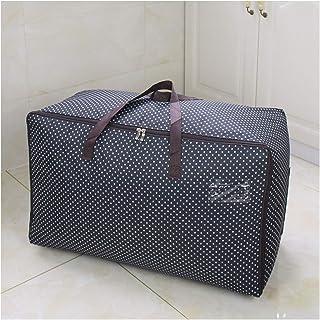 Aqiong CGS2 Vêtement imprimé emballage inapproprié Closet Organizer pour couette réutilisable suspendu sac 1 partie housho...