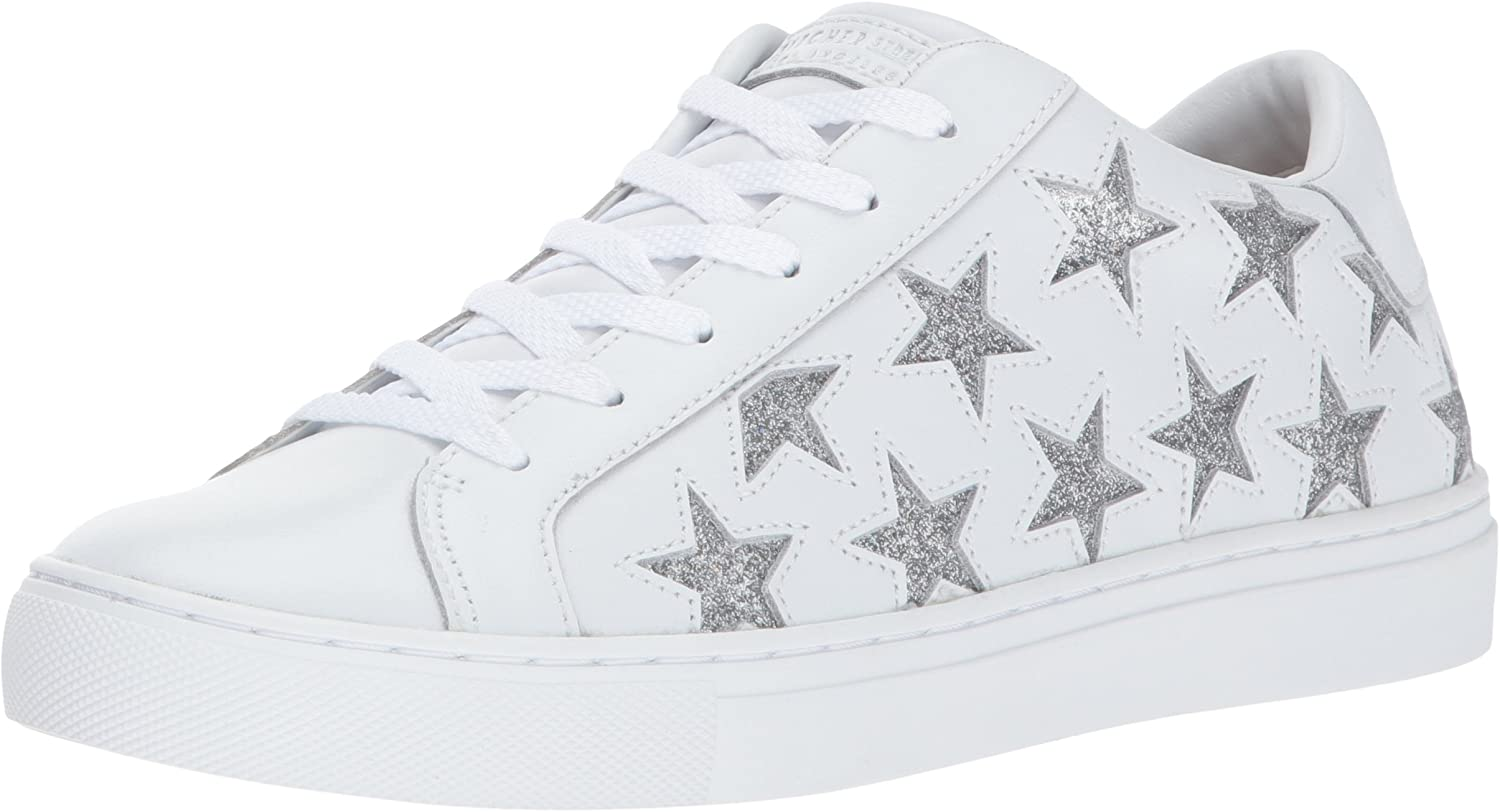 Skechers Women's Side Street - Star Side shoes White Silver