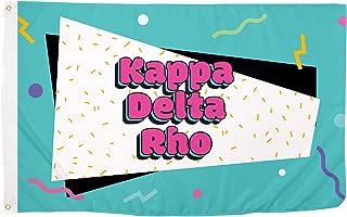 Kappa Delta Rho 90's Fraternity Flag Banner 3 feet x 5 feet Sign Decor KDR (Flag - 90's)