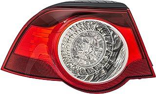 HELLA 2VA 009 246 131 Heckleuchte   LED   glasklar/rot   äusserer Teil   links