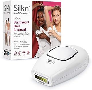 Silk'n Infinity, duurzame ontharing, 400.000 lichtimpulse, voor lichte tot donkere huid, puls- en glijtechniek, IPL