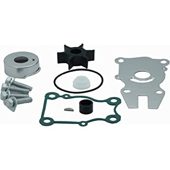 Water Pump Impeller Repair Kit for compatible yamaha F40-F50-F60hp Outboard 63D-W0078-01-00
