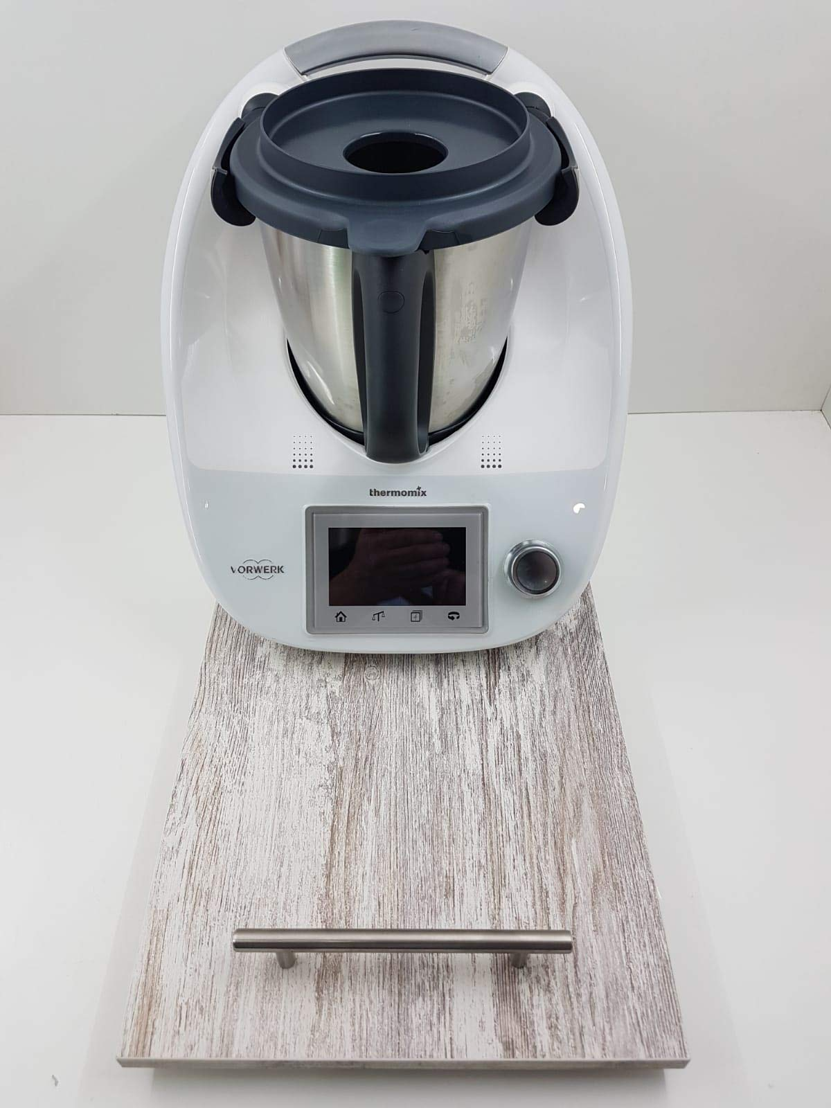 Tabla, Plataforma, Base Deslizante para THERMOMIX TM6 TM5 TM31. Mod Jaspe Grande: Amazon.es