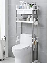 Toilet Plank 2 Tier Plank Toilet Wasmachine Rack Badkamer Ruimtebesparende Organizer Plank Badkamer Opslag Plank (Grootte:...