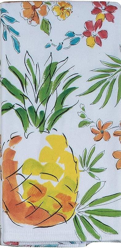 Kay Dee Designs Tropical Oasis Pineapple Dual Purpose Terry Kitchen Towel 16 X 26 Various