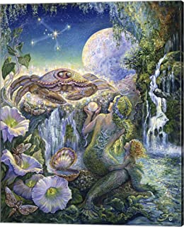 Cancer by Josephine Wall Canvas Art Wall Picture, Gallery Wrap, 16 x 20 inches