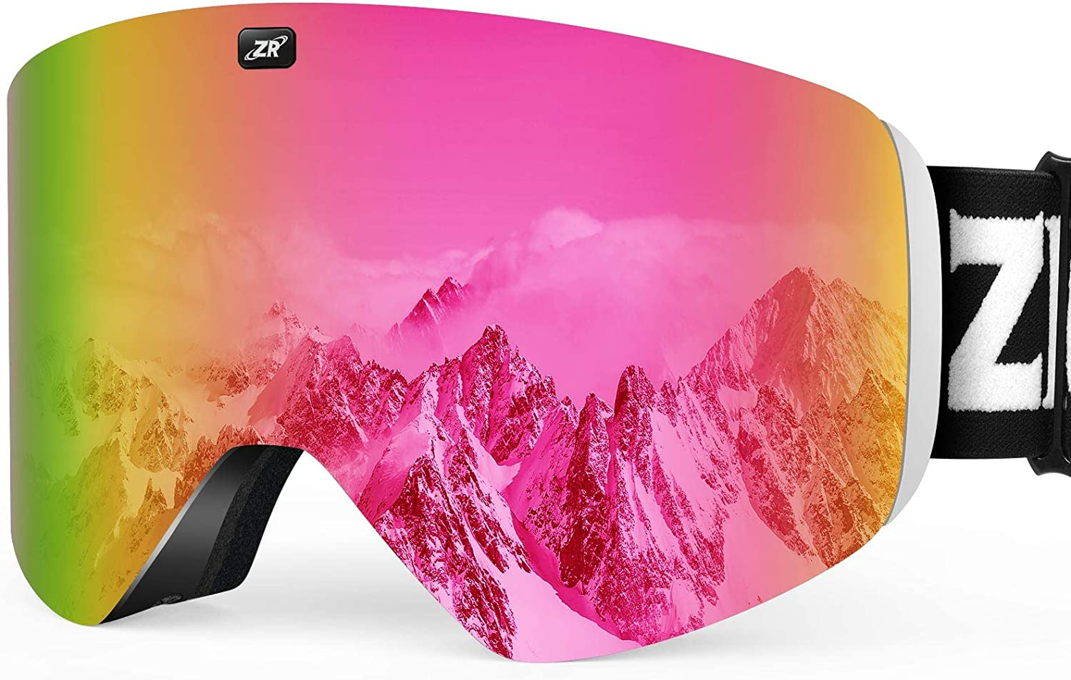 ZIONOR X11 Ski Goggles Ranking integrated 1st place Magnetic Cylindrical Snow Goggl Snowboard Many popular brands