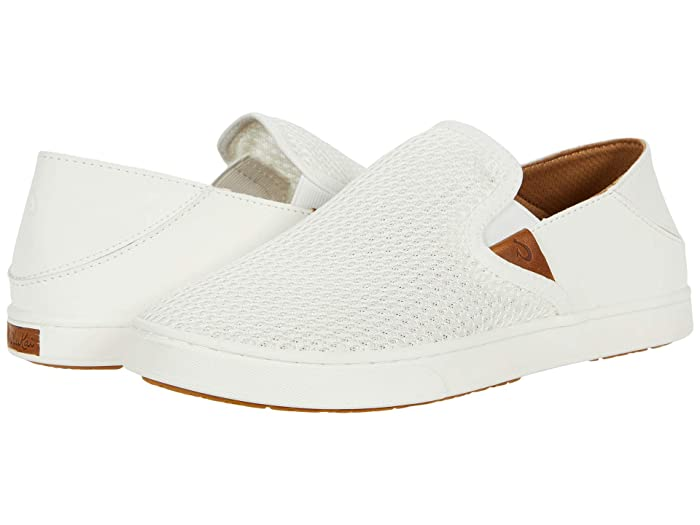 Pehuea  Shoes (Bright White/Bright White) Women's Slip on  Shoes