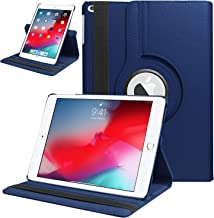 HBorna iPad 6th Generation case, iPad Air, iPad Air 2, Full Body Protective PU Leather with Hand Strap, Auto Sleep Cover for iPad 9.7 2017/2018/5th, Navy Blue
