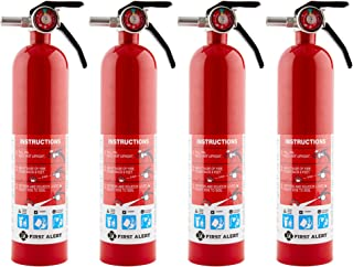 First Alert Home Fire Extinguisher – 4-Pk, Rated 1-A:10-B:C, Model# HOME1