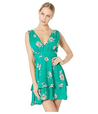 BB Dakota Garden Strolls Dress (Pepper Green) Women