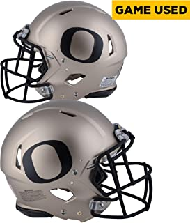 Oregon Ducks Game-Used Bronze and Black Helmet Worn Between the 2014 and 2017 Football Seasons - Riddell Speed - AA0030221 - Fanatics Authentic Certified