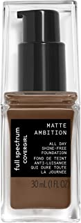 Covergirl All Day Foundation Matte Ambition, Deep Neutral 2, 1.01 Ounce