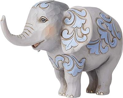 "Enesco Jim Shore Heartwood Creek Mini Elephant Figurine, 3.5"", Multicolor"