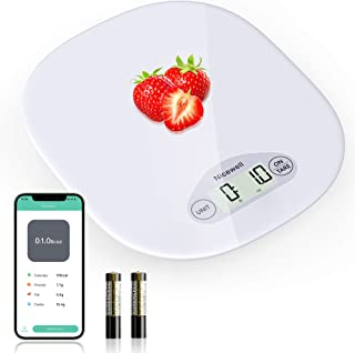 Nicewell Digital Food Scale, Kitchen Scale for Baking, Cooking and Coffee Scale with Nutritional Calculator for Macro, Cal...