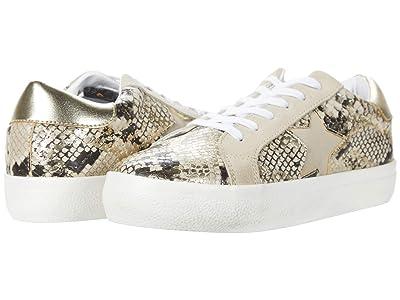 Steve Madden Starling Sneaker (Gold Snake) Women