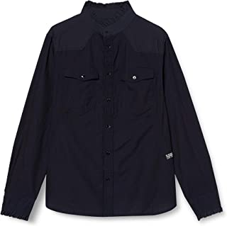 G-Star Raw Western Kick Frill Slim_Shirt dames shirt