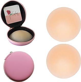 Sophie's Nipple Cover | Par de pezoneras redonda de silicón autoadhesivas | Cubre pezón lavable y reutilizable | Parche su...