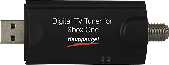 Hauppauge Digital TV Tuner for Xbox One TV Tuners and Video Capture 1578,Black
