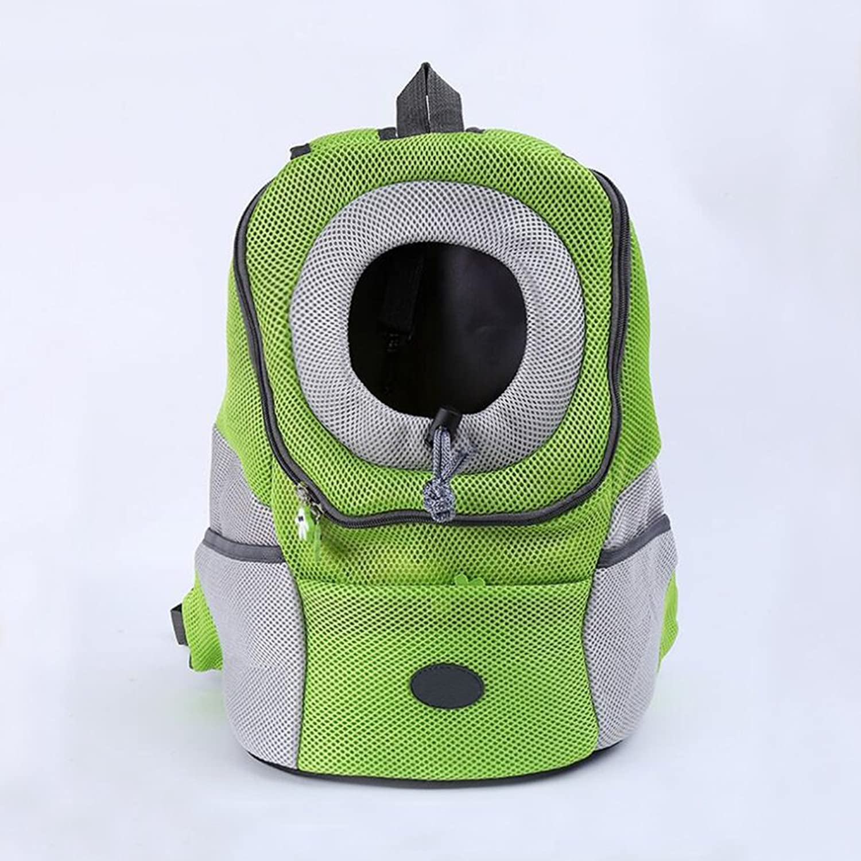ORPERSIST Pet Backpack Portable Breathable Double Shoulder Bag Sides Can Put Pet Food Supplies Pet Bag Cat Dog Travel Bags