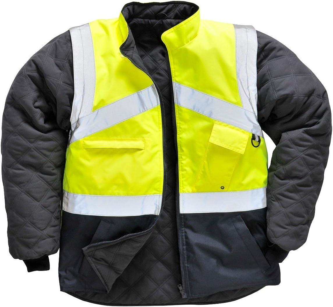Portwest Workwear Mens Hi-Vis 2-Tone Jacket