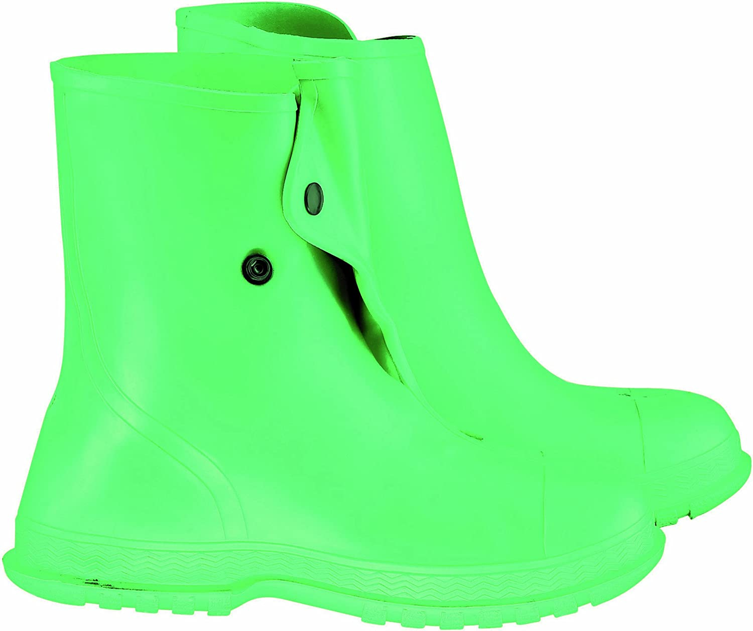 ONGUARD 87025 Men's Chemical Overshoe with 4-Way Cleated Outsole, 10