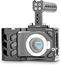 SMALLRIG Camera Cage Kit for BMPCC Blackmagic Pocket Cinema Camera with Cheese Top Handle - 1991