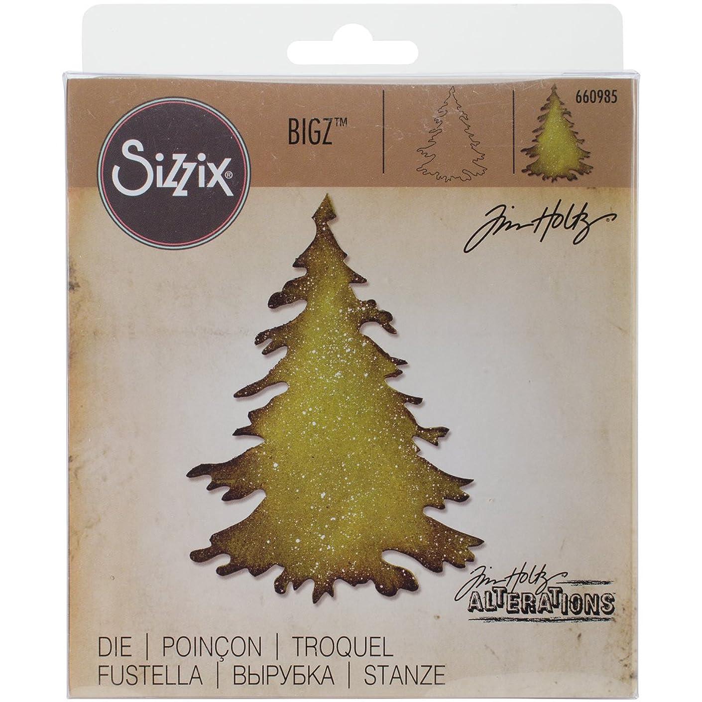 Sizzix 660985 Bigz Die Evergreen by Tim Holtz