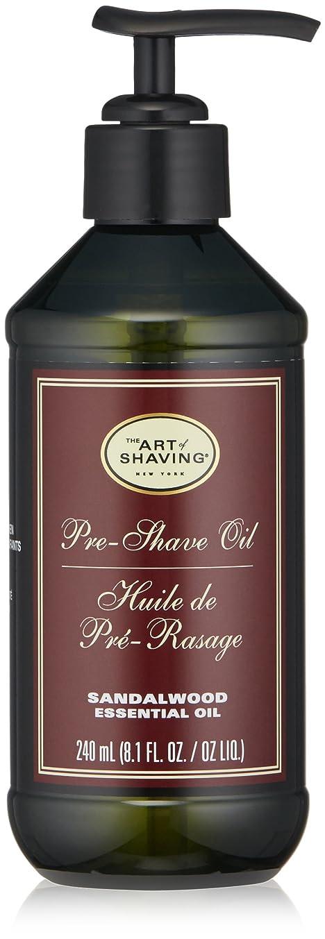 汚れる詩人不機嫌そうなアートオブシェービング Pre-Shave Oil - Sandalwood Essential Oil (With Pump) 240ml/8.1oz並行輸入品