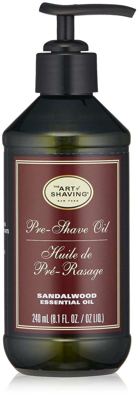 ネーピア受け入れたシプリーアートオブシェービング Pre-Shave Oil - Sandalwood Essential Oil (With Pump) 240ml/8.1oz並行輸入品