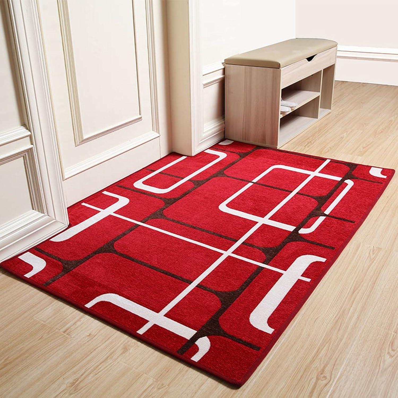 Door mats Foot pad Carpet Non-Slip Home Hall Bedroom-I 120x160cm(47x63inch)