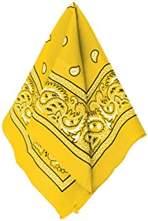 Amscan Bandana, Yellow