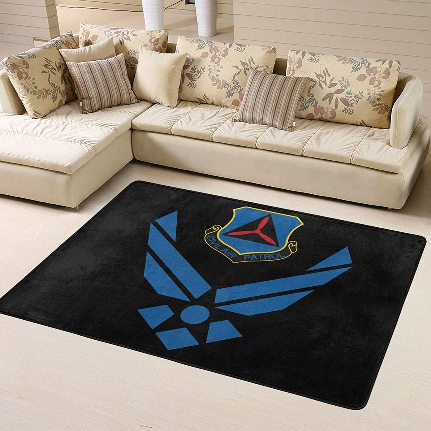 Branded goods Civil Air Patrol U Super Discount mail order Soft Decoration Personalized Rugs Home