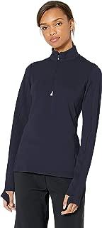 Women's Moisture Wicking UPF 50+ Stretch Traverse Half Zip Pullover