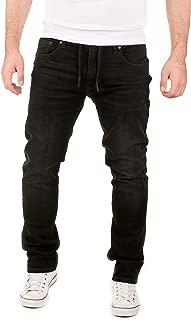 Men's Sweatpants Joggers in Jeans Noah - Pockets Slim