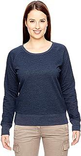 econscious 7 oz. Organic/Recycled Heathered Fleece Raglan Pullover (EC4505)