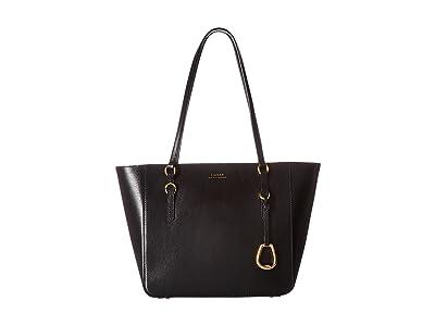 LAUREN Ralph Lauren Bennington Shopper Medium (Black) Handbags