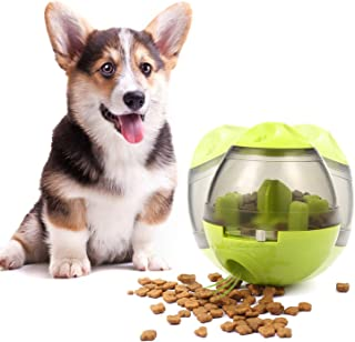 Cenme Dog or Cat Food Feeder,Food Dispensing Ball Toy,Puppy Slow Eating Bowl Funny Dog Foraging Toy,Interactive IQ Treat B...