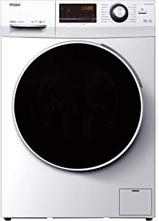 Haier HW80-B14636N Waschmaschine / 8 kg / 1400 UpM / Direct Motion Motor (sehr leiser und sparsamer Direktantrieb) / Dampf-Funktion / Vollwasserschutz / ABT / Eco 40-60 Programm