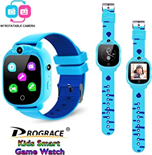Prograce Kids Smart Game Watch with 90°Rotatable Camera...