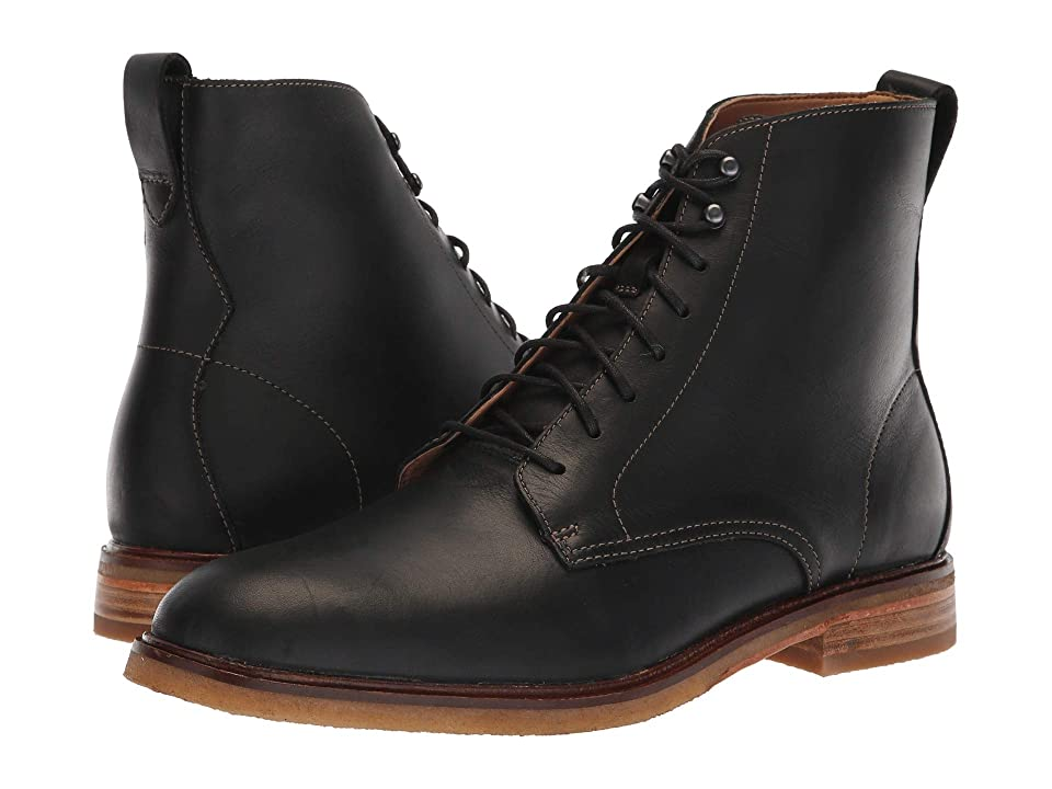 Stacy Adams Men's Victorian Boots and Shoes Clarks Clarkdale Rich Black Leather Mens Lace up casual Shoes $190.00 AT vintagedancer.com