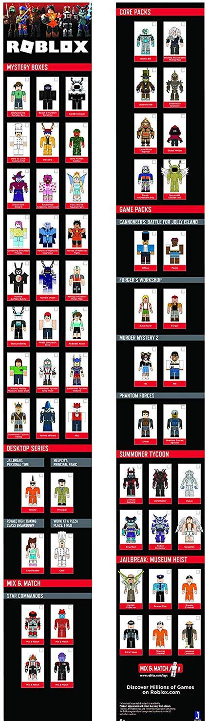 Roblox Overnight Skeleton Key Roblox Action Collection Jailbreak Museum Heist Playset Includes Exclusive Virtual Item Amazon Sg Toys Games