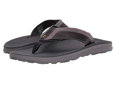 Chaco Playa Pro Leather (Gray) Men