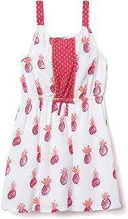 Girls' Little Sleeveless Printed Summer Dress
