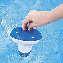 Dispensador de pastillas de cloro flotante para piscina o spa (12 cm)