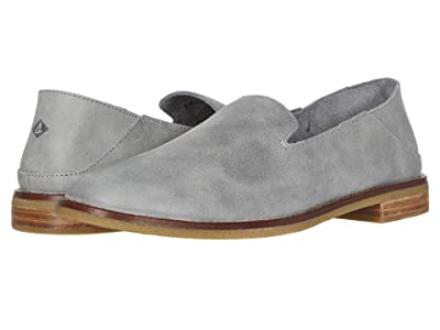 Sperry Seaport Levy Smooth Leather (Grey) Women
