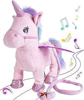 Kids toy Electronic Pet Unicorn Small Pegasus Singing Walking Musical Puppy Pet Soft toys for Baby